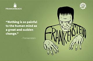 Frankenreads 2018 project banner